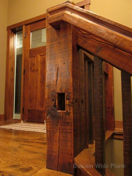 8_x_8_Reclaim_Rough_Sawn_Barn_Timbers_with_Mortise_and_Peg_Pockets