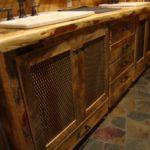 Carriage House Pine Custom Cabinets