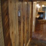 Carriage House Pine Plank Wall Material