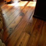Carriage House Pine Flooring with Quirk Gap