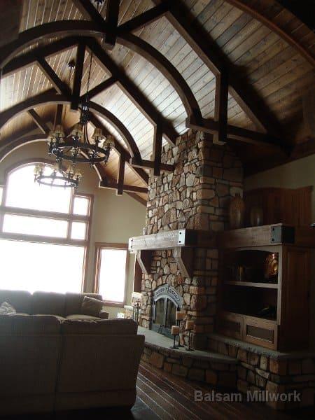 Cedar_Trusses_with_Hickory_Skip_Sawn_Floors