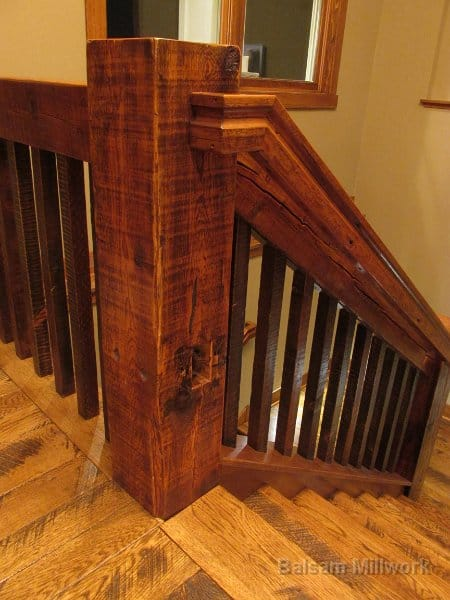 Character_Skip_Sawn_White_Oak_Treads_and_Risers_with_Relcaim_Pine_Ballusters__Handrails_and_Posts