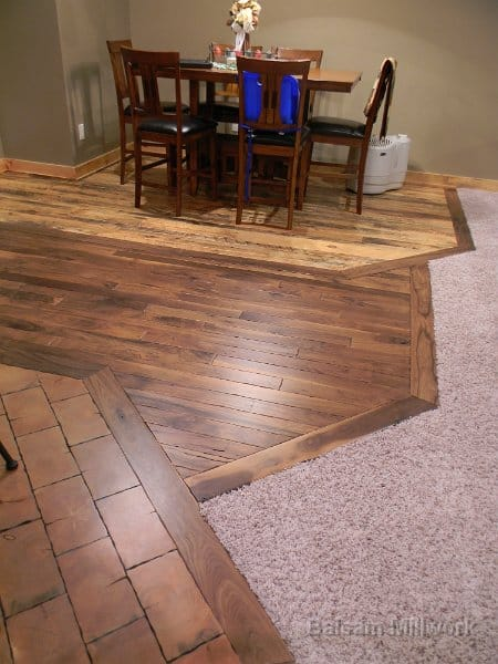 End_Grain_with_Center_Walnut_with_Carriage_House_Pine_Dinning_Room_Floor