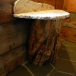 Log_Pedestal_Sink_with_Chisled_Edge_Granite_Top