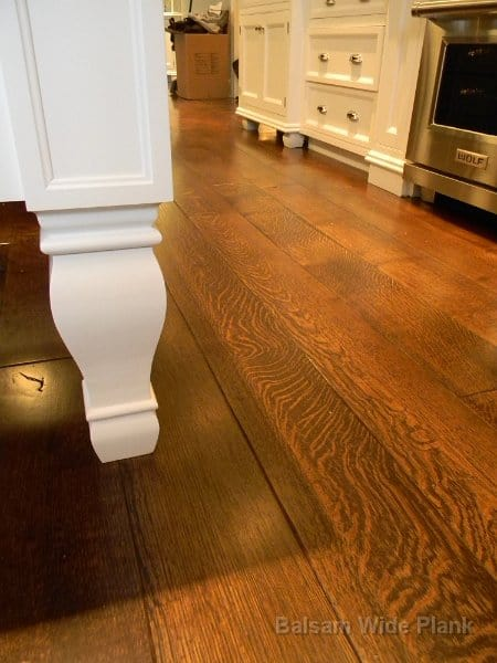 8 inch Character Quarter Sawn White Oak Wide Plank Flooring