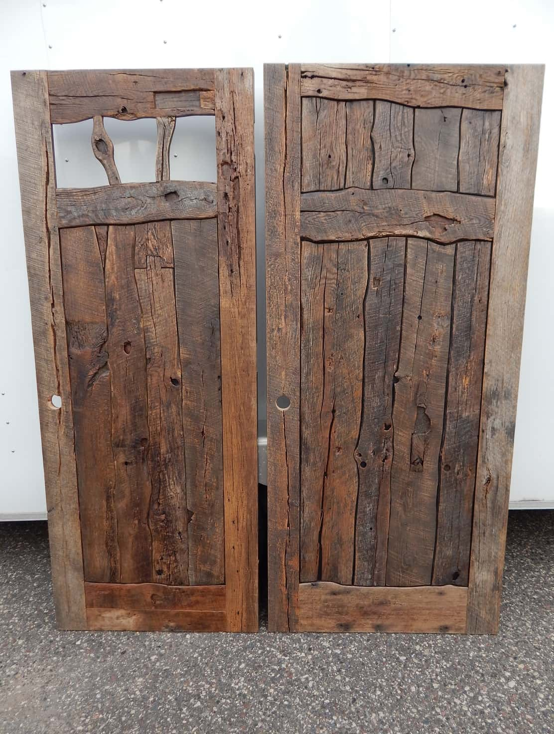 Reclaim Oak Crooked Interior Doors